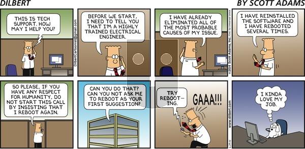 Dilbert - Sunday June 29, 2014 Comic Strip