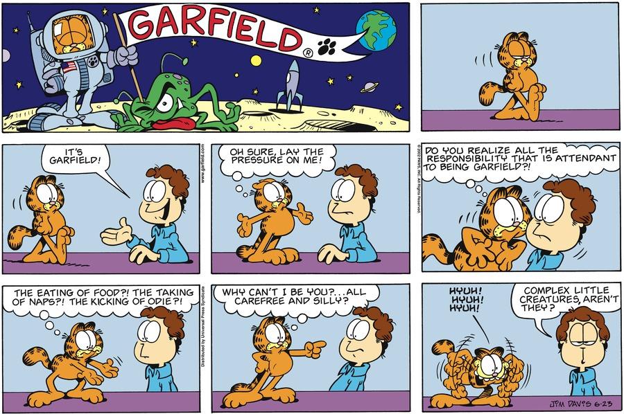 Garfield Comic Strip for June 23, 2002