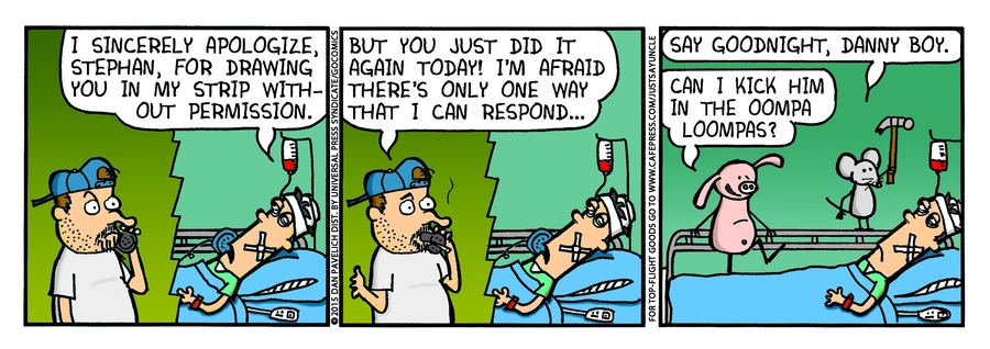 Just Say Uncle Comic Strip for January 23, 2015