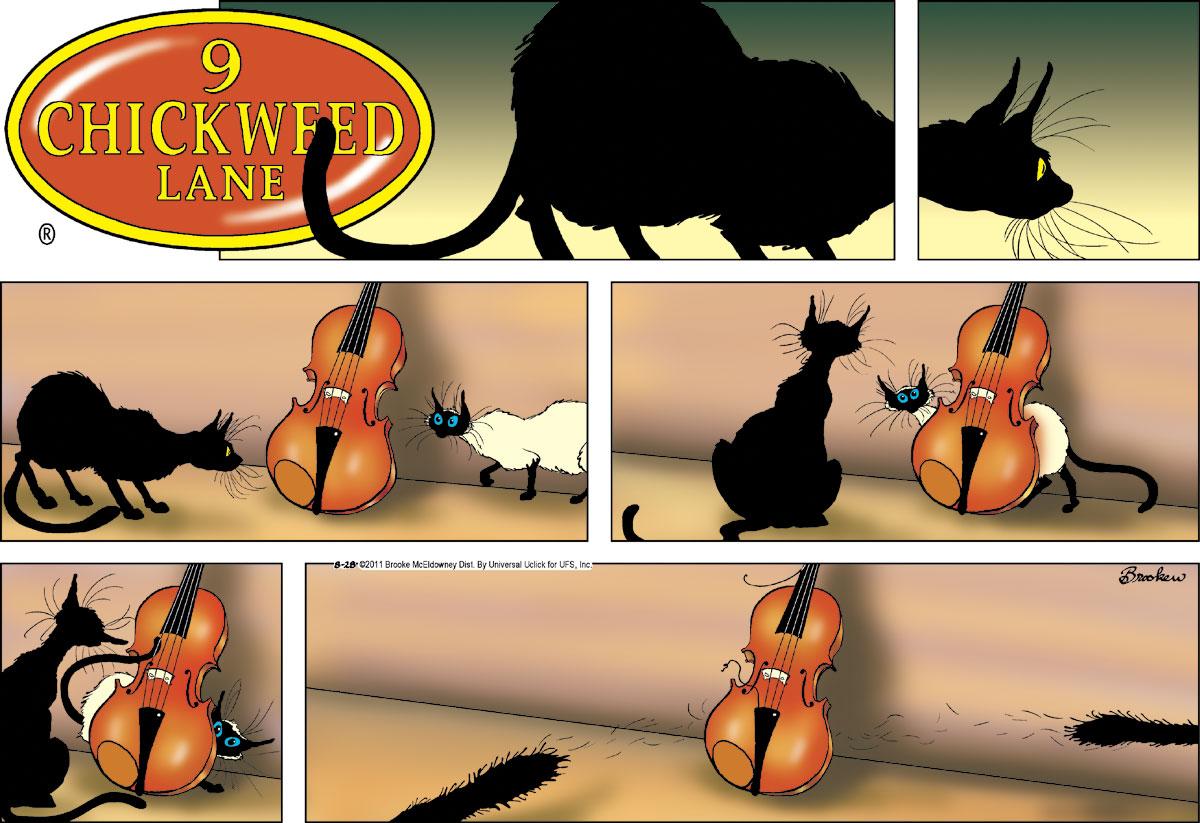 9 Chickweed Lane for Aug 28, 2011 Comic Strip