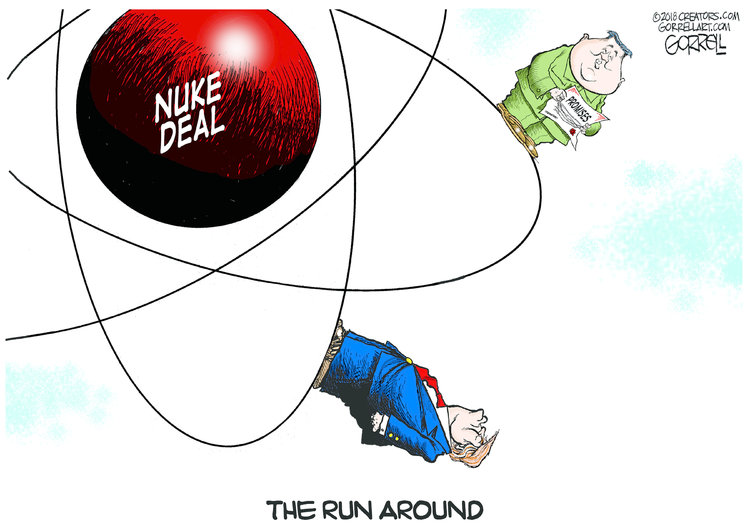 Bob Gorrell for Aug 6, 2018 Comic Strip