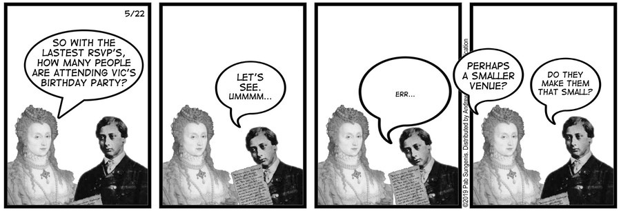New Adventures of Queen Victoria Comic Strip for May 22, 2019