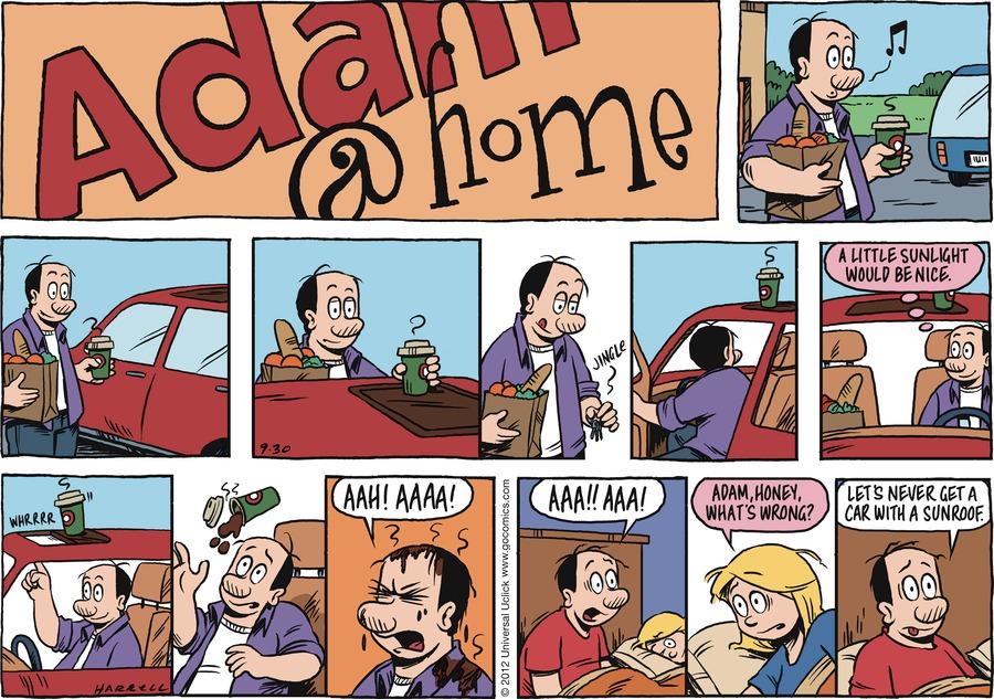 Adam@Home for Sep 30, 2012 Comic Strip