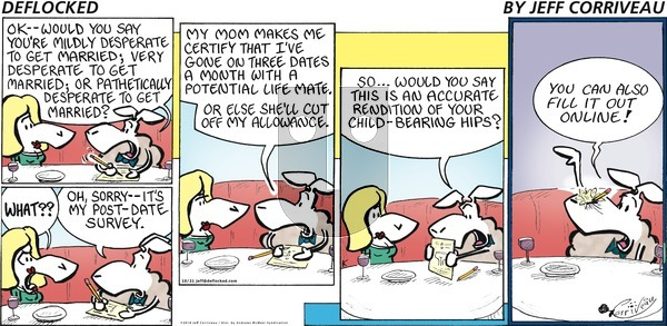 DeFlocked on Sunday October 21, 2018 Comic Strip