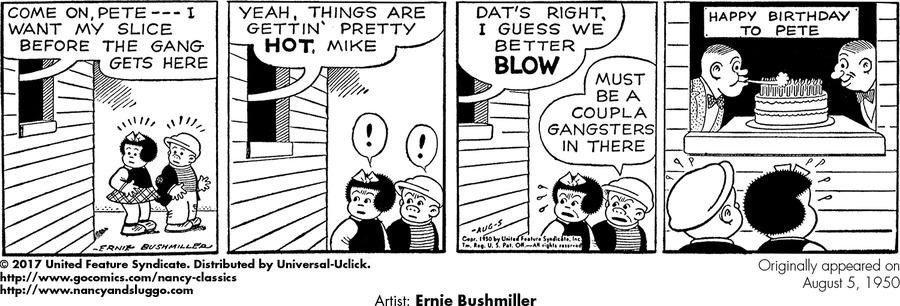 Nancy Classics by Ernie Bushmiller on Tue, 04 Aug 2020