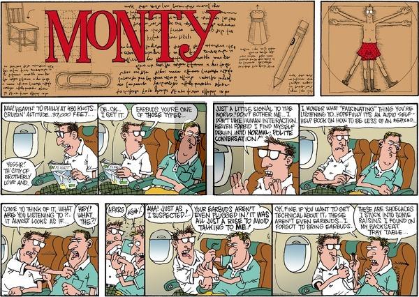 Monty on Sunday June 1, 2014 Comic Strip