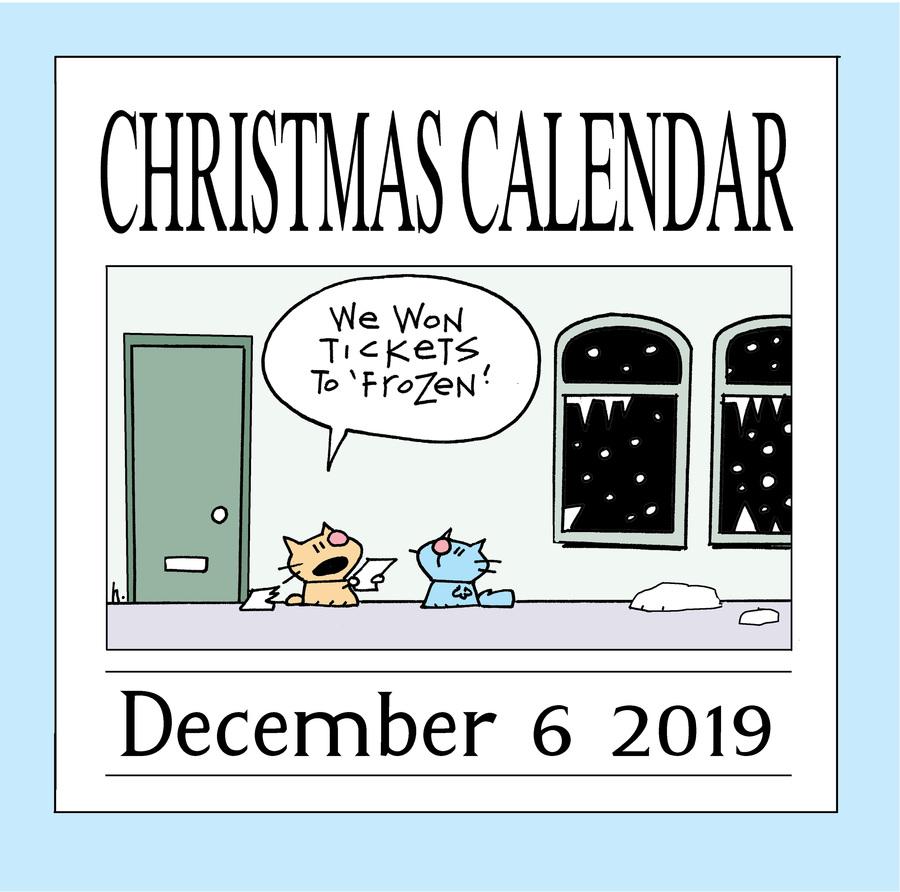 Ten Cats Comic Strip for December 06, 2019