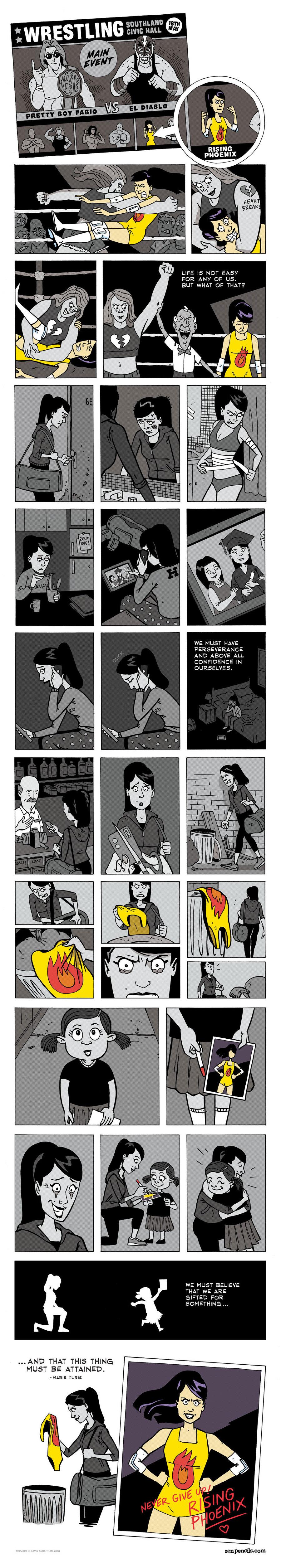 Zen Pencils Comic Strip for March 20, 2017
