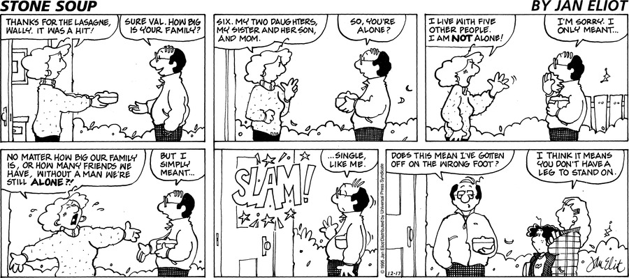Stone Soup for Dec 17, 1995 Comic Strip