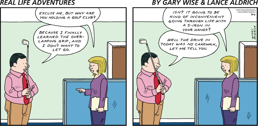 Real Life Adventures Comic Strip for September 09, 2018