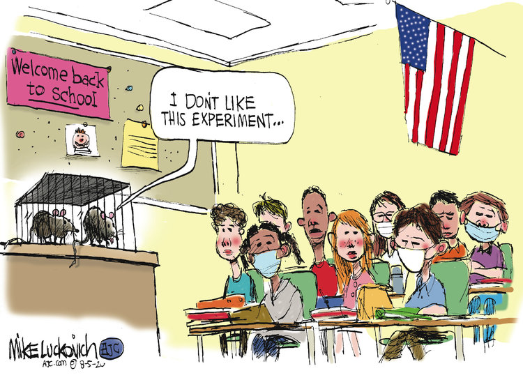 Mike Luckovich Comic Strip for August 05, 2020