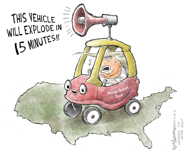Nick Anderson Comic Strip for December 28, 2020