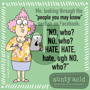 Aunty Acid on Friday September 6, 2019 Comic Strip