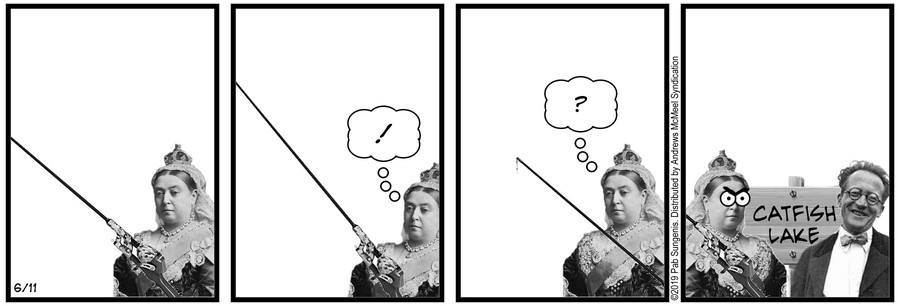 New Adventures of Queen Victoria Comic Strip for June 11, 2019