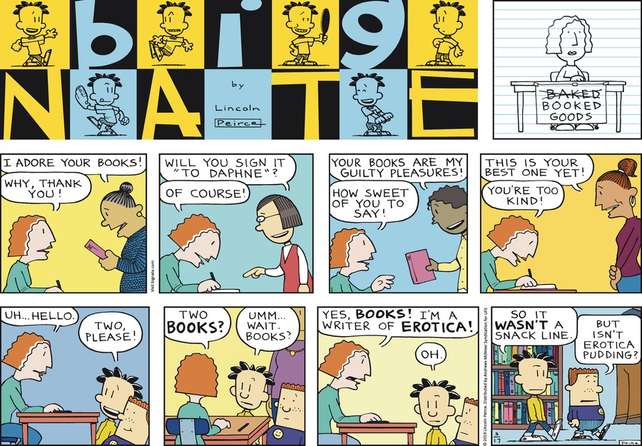 Big Nate Comic Strip for March 17, 2019