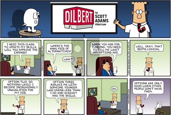 Dilbert on Sunday October 31, 2010 Comic Strip