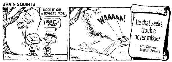 Brain Squirts Comic Strip for November 24, 2014