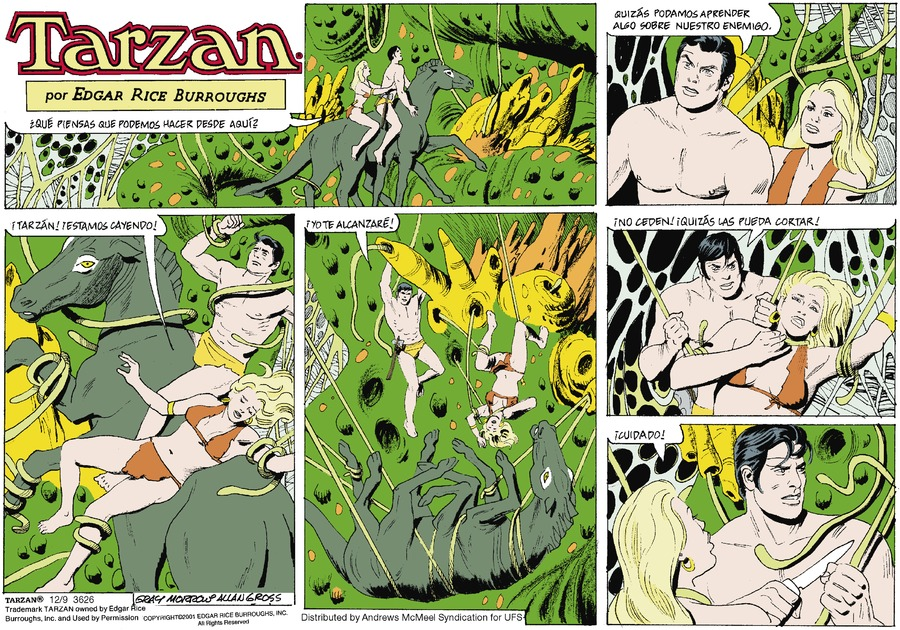 Tarzan en Español by Edgar Rice Burroughs for December 09, 2018