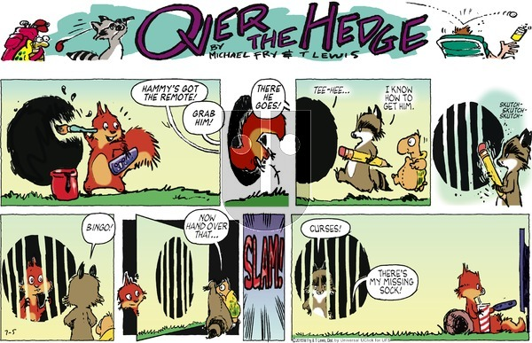 Over the Hedge on Sunday July 5, 2015 Comic Strip
