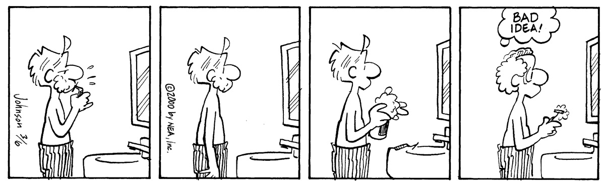 Arlo and Janis Comic Strip for March 06, 2000