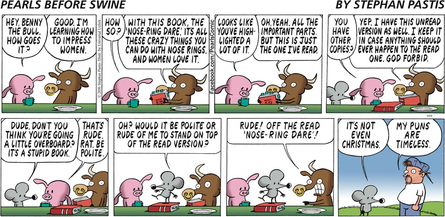 Pearls Before Swine Comic Strip for May 29, 2016