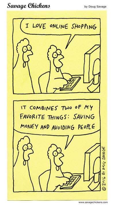 Savage Chickens Comic Strip for April 30, 2020