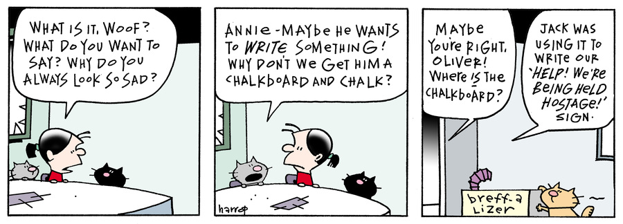 Ten Cats Comic Strip for March 30, 2016