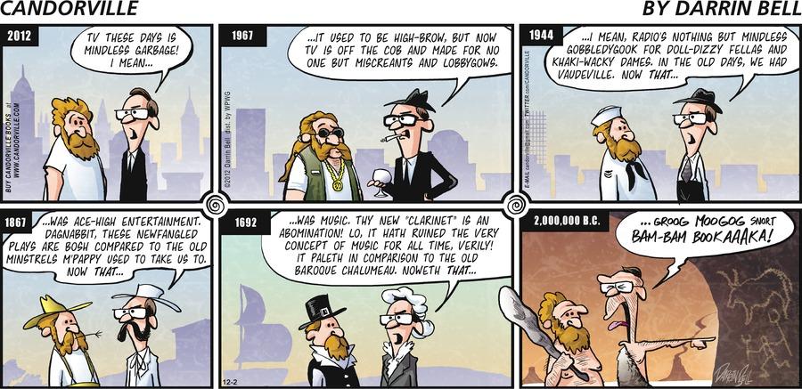 Candorville for Dec 2, 2012 Comic Strip