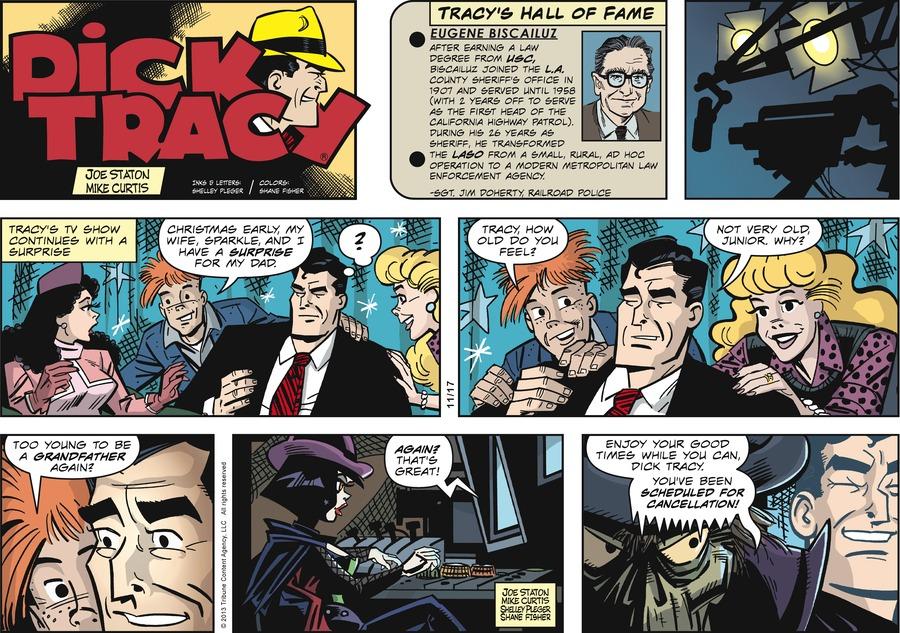 Dick Tracy Comic Strip for November 17, 2013
