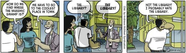 Alley Oop on Thursday April 4, 2019 Comic Strip