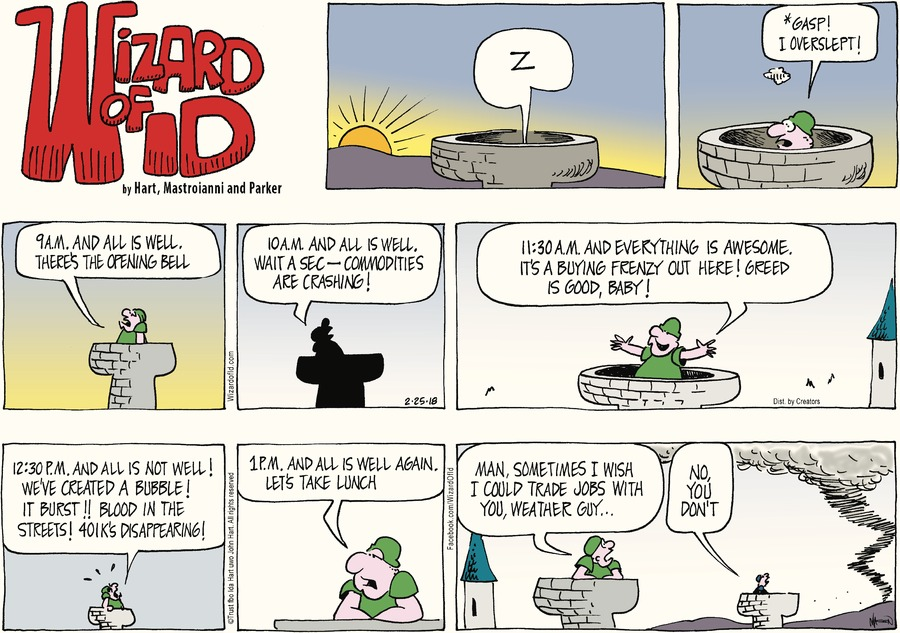 Wizard of Id Comic Strip for February 25, 2018