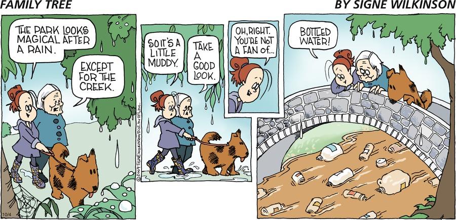 Family Tree Comic Strip for October 04, 2009