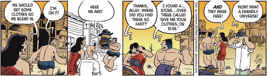 Alley Oop Comic Strip for April 15, 2021