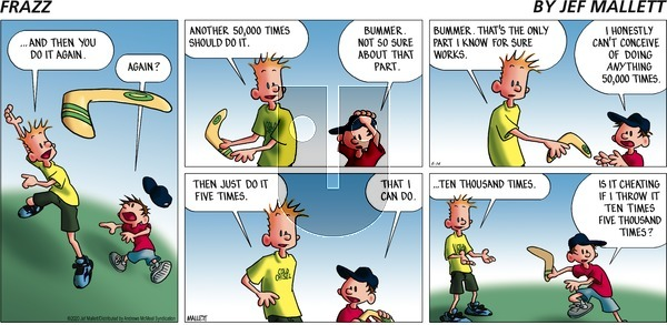 Frazz on Sunday June 14, 2020 Comic Strip