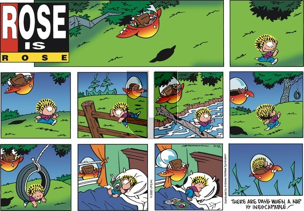 Rose is Rose on Sunday April 12, 2020 Comic Strip