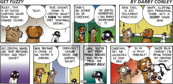 Get Fuzzy on Sunday May 2, 2021 Comic Strip
