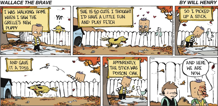 Wallace the Brave Comic Strip for October 06, 2019