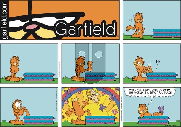 Garfield on Sunday June 9, 2019 Comic Strip