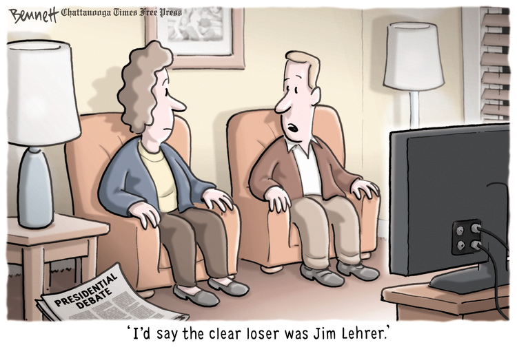 Clay Bennett for Oct 4, 2012 Comic Strip