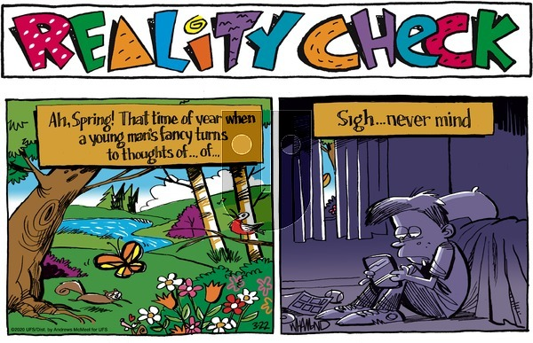 Reality Check - Sunday March 22, 2020 Comic Strip