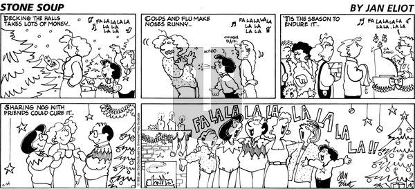 Stone Soup on Sunday December 24, 1995 Comic Strip