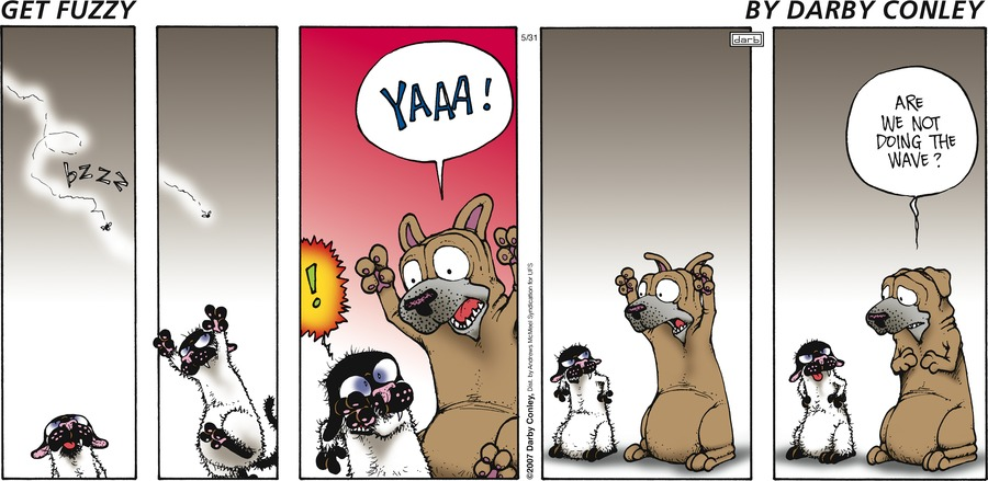 Get Fuzzy Comic Strip for May 31, 2020