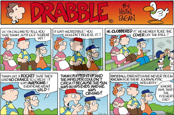 Drabble on Sunday May 16, 2010 Comic Strip