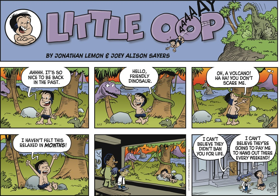 Alley Oop Comic Strip for January 17, 2021