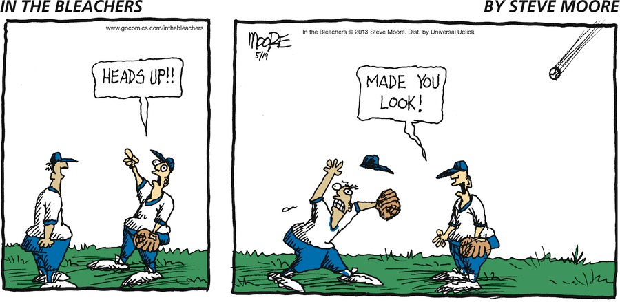 In the Bleachers for May 19, 2013 Comic Strip