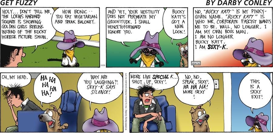 Get Fuzzy Comic Strip for December 23, 2018