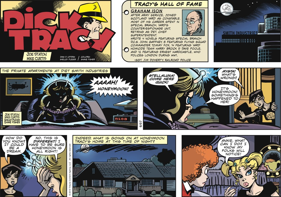 Dick Tracy Comic Strip for June 07, 2015