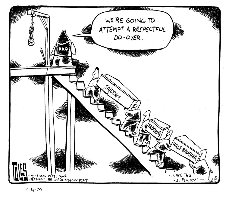 Tom Toles Comic Strip for January 21, 2007