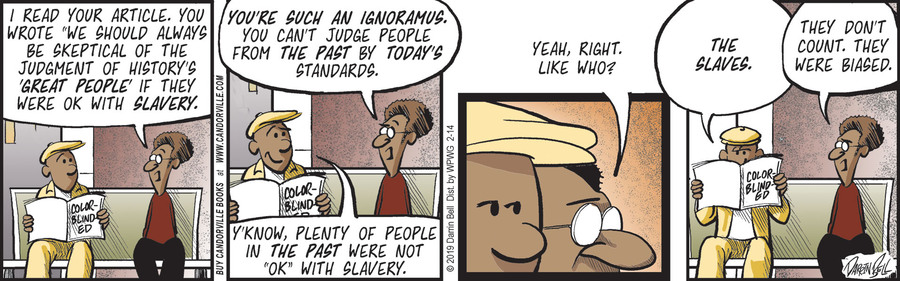 Candorville Comic Strip for February 14, 2019
