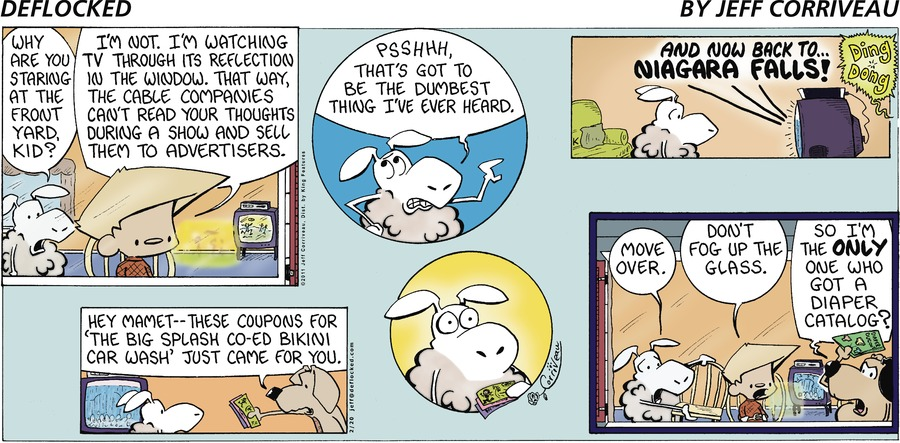 DeFlocked Comic Strip for February 20, 2011